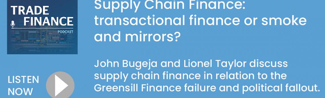 LIBF Podcast – Supply Chain Finance: transactional finance or smoke